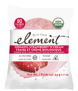 Elements Snacks Organic Strawberries n' Cream Dipped Rice Cakes