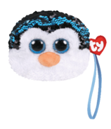 Ty Fashion Waddles The Penguin Sequin Wristlet