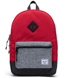 Herschel Supply Heritage Youth Red, Raven Crosshatch & Black Crosshatch