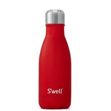 S\'well The Satin Collection Stainless Steel Water Bottle Scarlet