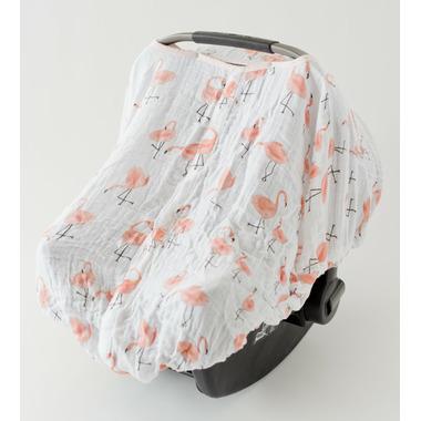 Little Unicorn Cotton Muslin Car Seat Canopy Pink Ladies