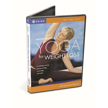 Gaiam Maintenance Yoga For Weight Loss DVD