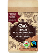 Cha's Organics Nutmeg Ground