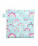 Bumkins Reusable Snack Bag Large Rainbows