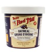 Coupe de flocons d'avoine aux bleuets et aux noisettes Bob's Red Mill