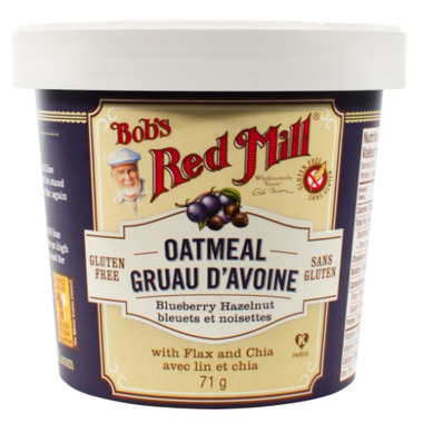 Bob\'s Red Mill Blueberry Hazelnut Oatmeal Cup