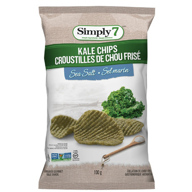 Simply7 Kale Chips Sea Salt