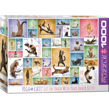 Eurographics Yoga Cats Puzzle