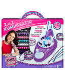 Cool Maker 2-in-1 KumiKreator Necklace and Friendship Bracelet Maker Kit
