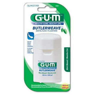 Gum ButlerWeave Dental Floss