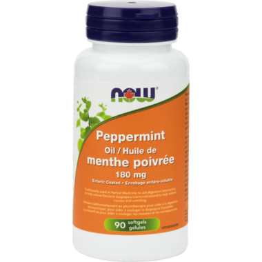 NOW Foods Peppermint Oil Softgels