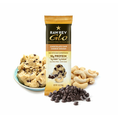 RAW REVOLUTION GLO-Chocolate Chip Cookie Dough