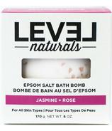 Level Naturals Epsom Salt Bath Bomb Jasmine + Rose