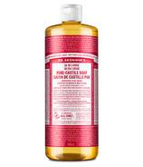 Dr. Bronner's Organic Pure Castile Liquid Soap Rose