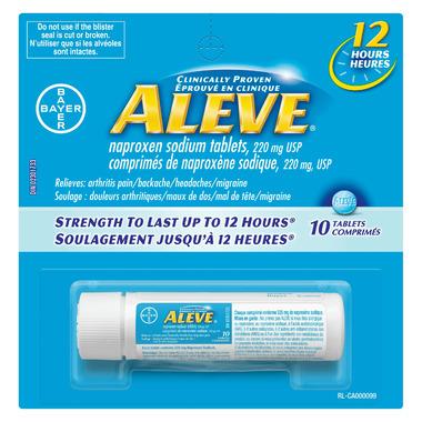 Aleve 220 mg Travel Size
