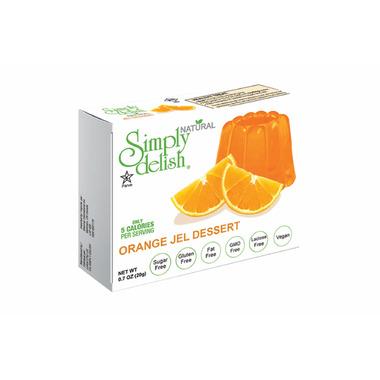 Simply Delish Orange Jelly Dessert