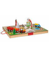 Melissa & Doug Take Along Vehicle Set Farm