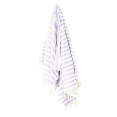 Stray & Wander Harbour Turkish Towel Lilac