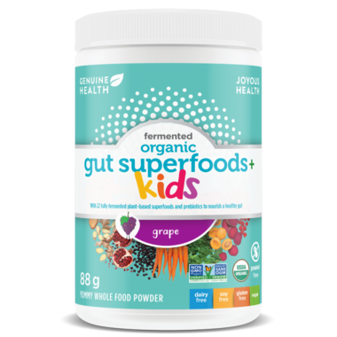 Genuine Health Fermented Organic Gut Superfoods+ Kids Grape