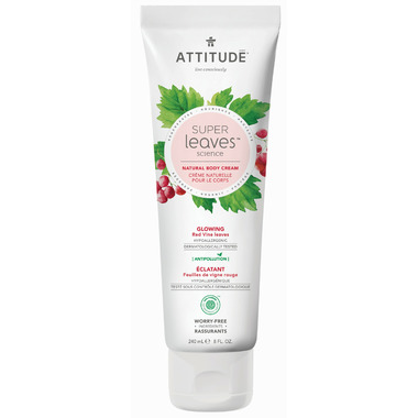 ATTITUDE Super Leaves Natural Body Cream Glowing