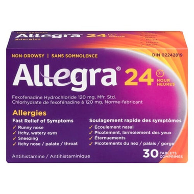 Allegra 24 Hours Tablet 120mg