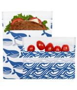 Lunchskins Reusable Bag Set Whale