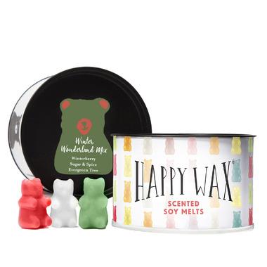 Happy Wax Classic Tin Soy Wax Melts Winter Wonderland Mix