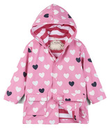 Hatley Colour Changing Lovely Hearts Raincoat