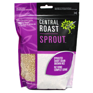 Central Roast Sprouted Short Grain Brown Rice