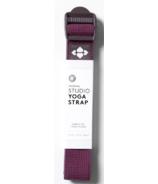 Halfmoon Yoga 8' Essential Studio Strap Plum