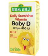 Webber Naturals Liquid D 400 IU Sesame Street