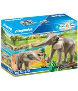 Playmobil Family Fun Elephant Habitat