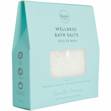 Rocky Mountain Soap Co. Aromatherapy Vanilla Coconut Salts