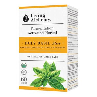 Living Alchemy Holy Basil Alive