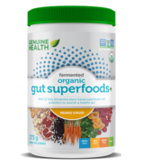 Genuine Health Fermented Organic Gut Superfoods+ Orange-Ginger