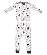 Nest Designs Organic Cotton Two Piece PJ Set Forest Friends