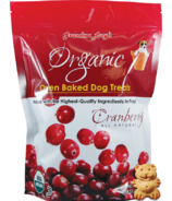 Grandma Lucy's Organic Oven Baked Cranberry Dog Treats