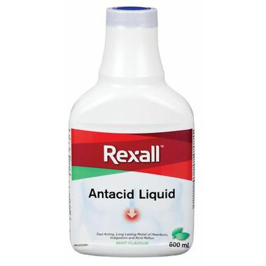 Rexall Liquid Antacid Mint