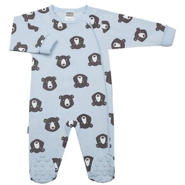 Kushies Side Zip Sleeper Bears