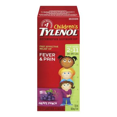 Children\'s Tylenol Fever & Pain Suspension Liquid