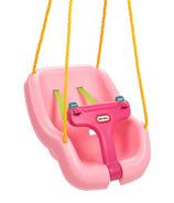 Little Tikes 2-in-1 Snug 'n Secure Swing Pink