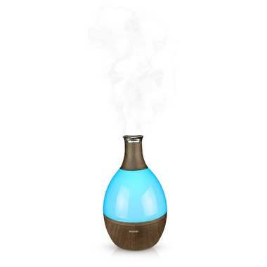 Nature\'s Mist Mystifier Humidifier And Night Lamp With Aromatherapy Oak