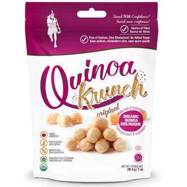 Quinoa Krunch Puffed Quinoa Snacks Original