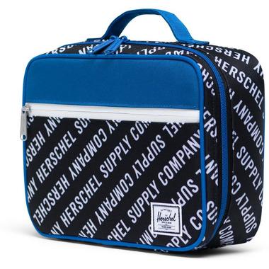 Herschel Supply Pop Quiz Lunch Box Roll Call Black, White & Lapis Blue