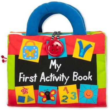 Melissa & Doug K\'s Kids Cloth My First Activity Book
