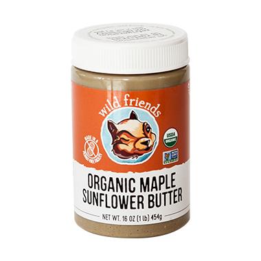 Wild Friends Organic Maple Sunflower Seed Butter