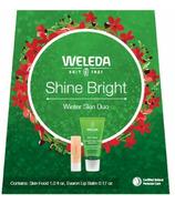 Weleda Shine Bright Winter Skin Duo Set