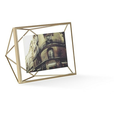 Umbra Prisma 4x6 Photo Display Matte Brass