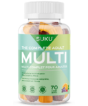 SUKU Vitamins The Complete Adult Multi Plus CoQ10 & Fibre