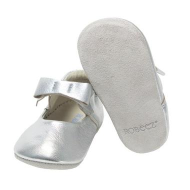 Robeez First Kicks Sofia Silver